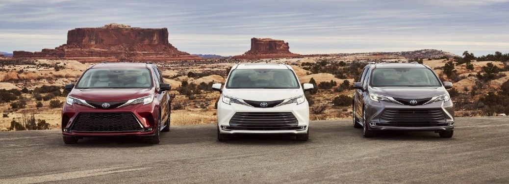 2021 Toyota Sienna model lineup