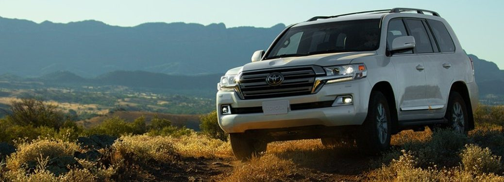 2021 Toyota Land Cruiser from exterior front