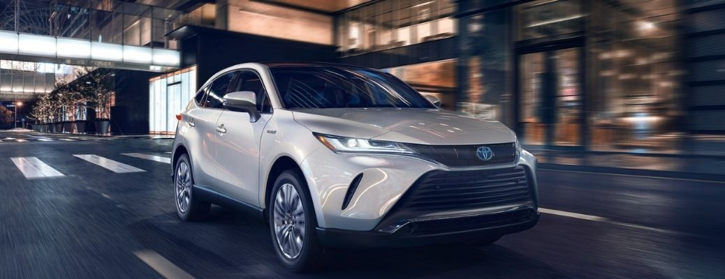2021 Toyota Venza on a city road