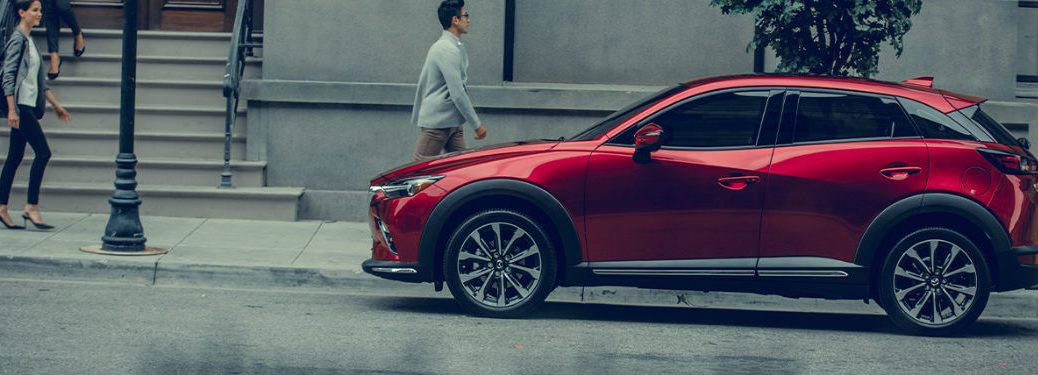 2020 Mazda CX-3 parked on a street