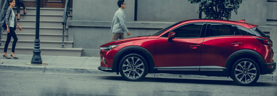 Innovative technology features and luxurious comfort options fill interior of new 2020 Mazda CX-3 crossover