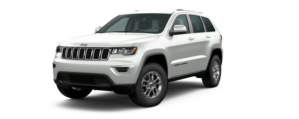2020 Jeep Grand Cherokee Bright White Clear