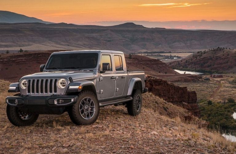 2020 Jeep Gladiator parked outside front view