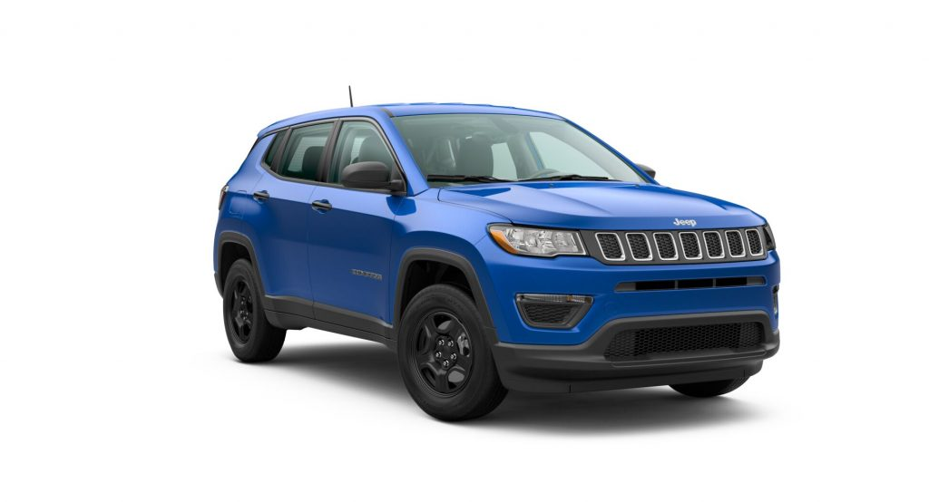 2020 Jeep Compass Laser Blue Pearl