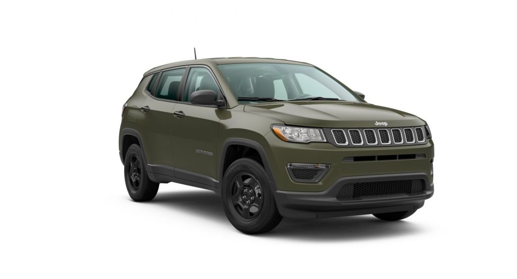 2020 Jeep Compass Olive Green Pearl