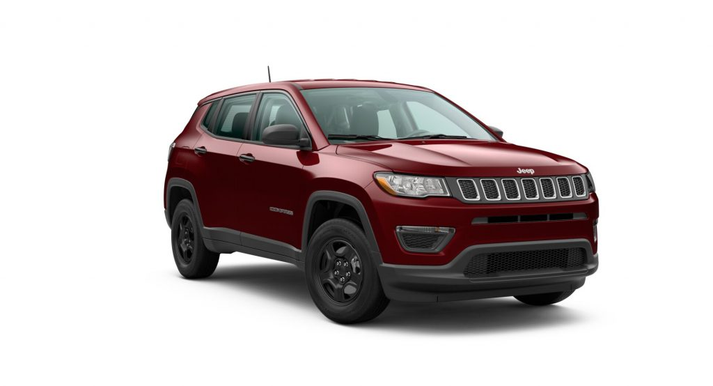 2020 Jeep Compass Velvet Red Pearl
