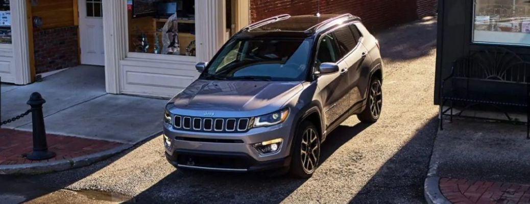 2021 Jeep Compass parked in a street