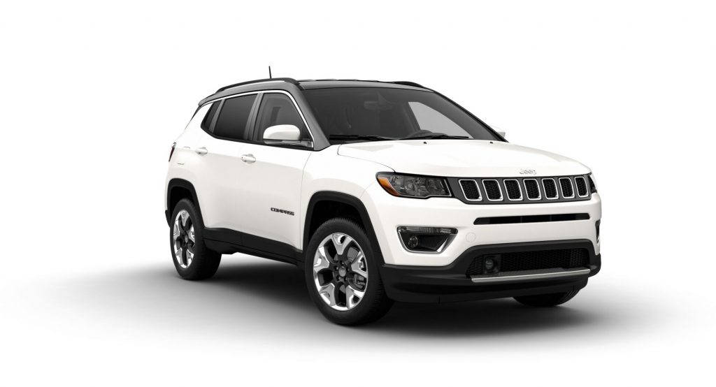 2021 Jeep Compass White Clear