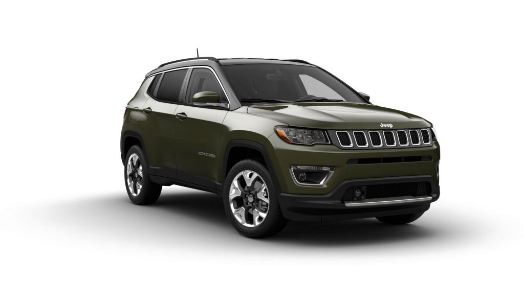 2021 Jeep Compass Olive Green