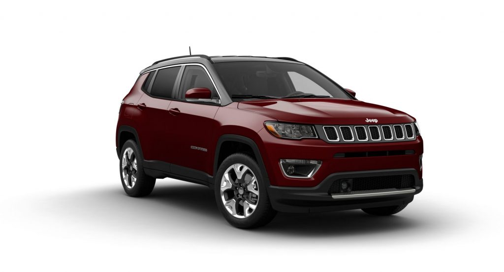 2021 Jeep Compass Velvet Red Pearl