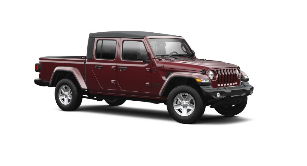 2021 Jeep Gladiator Snazzberry Pearl