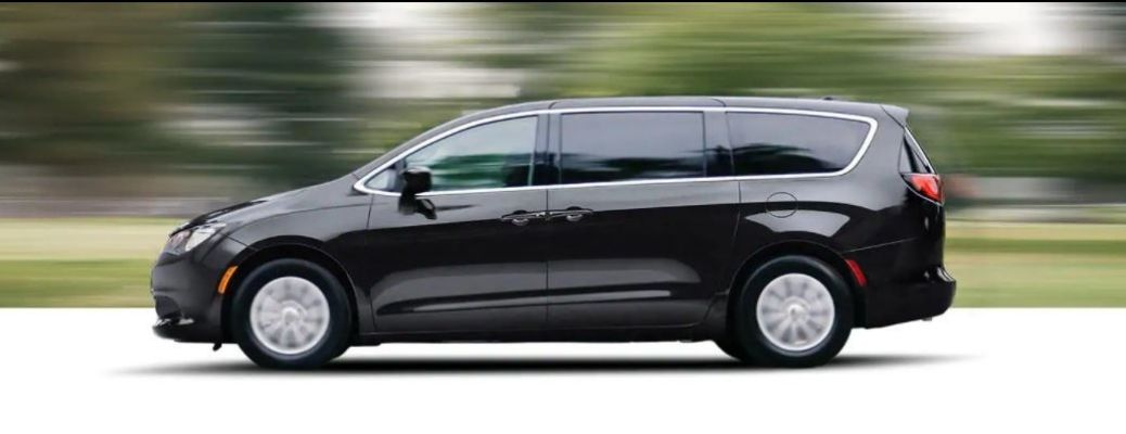 2021 Chrysler Voyager driving side view