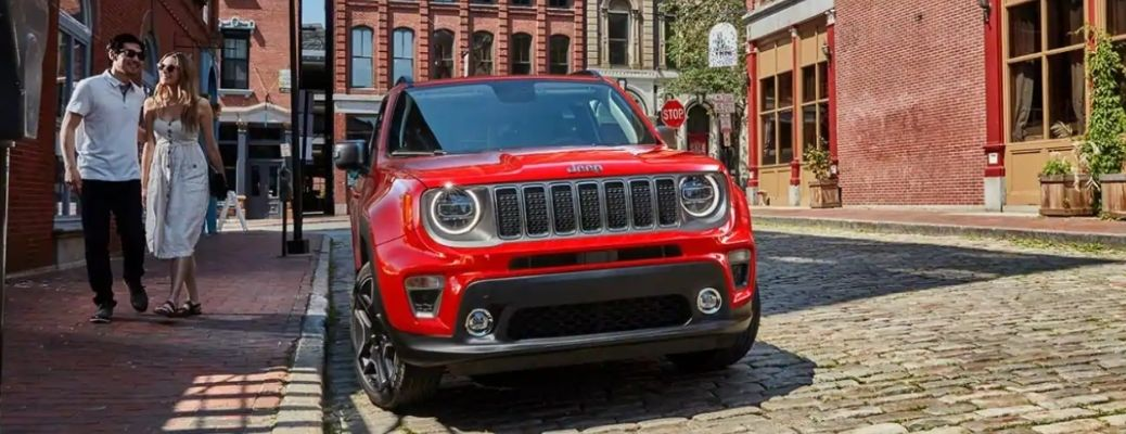 2021 Jeep Renegade parked outside front view