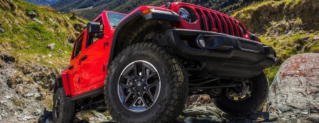 Tire Size Options for the 2021 Jeep Wrangler