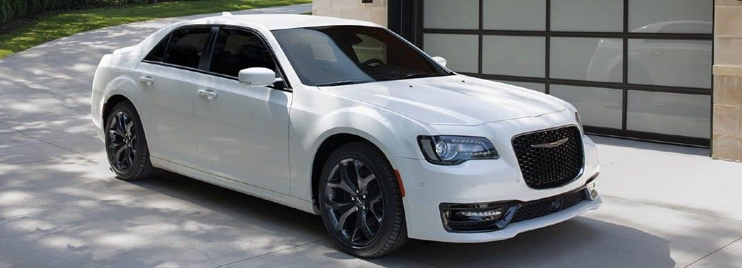 2021 Chrysler 300 parked in a driveway