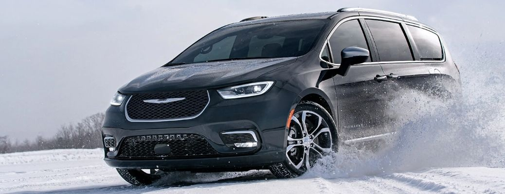 2021 Chrysler Pacifica On Icy Terrain