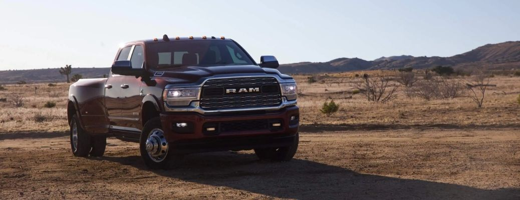 2021 RAM 3500 parked off-road