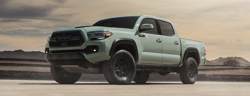 2021 Toyota Tacoma truck side view