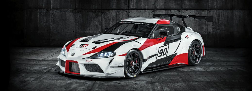 Toyota Supra GR racing concept front exterior