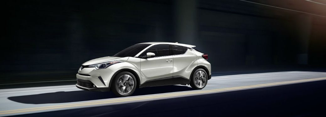 Driver side exterior view of the 2019 Toyota C-HR