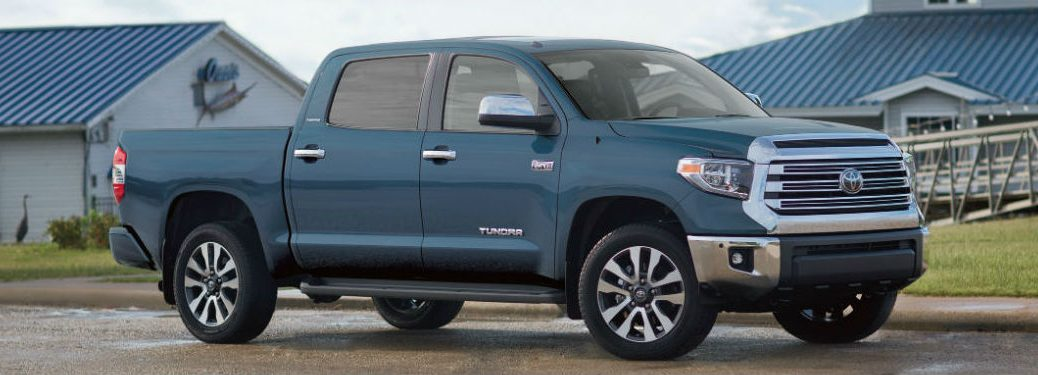 2019 Toyota Tundra in blue