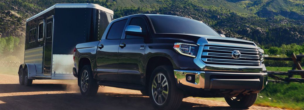 2020 Toyota Tundra with trailer