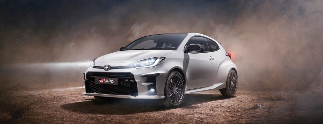 2020 Toyota GR Yaris in the spotlight