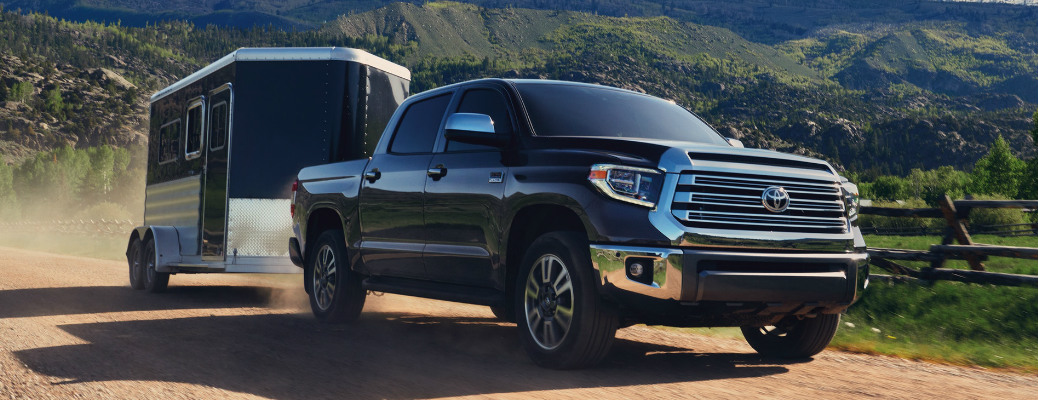 How many pounds can the 2020 Toyota Tundra tow?
