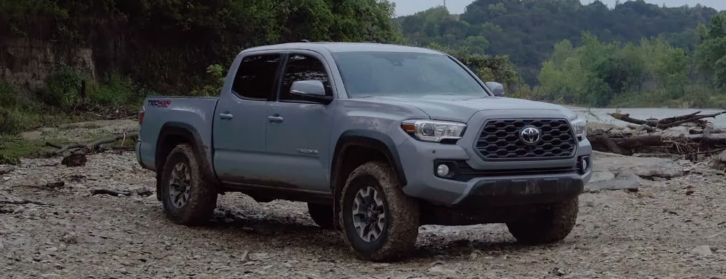 View an Exterior and Interior Walkaround of the 2020 Toyota Tacoma