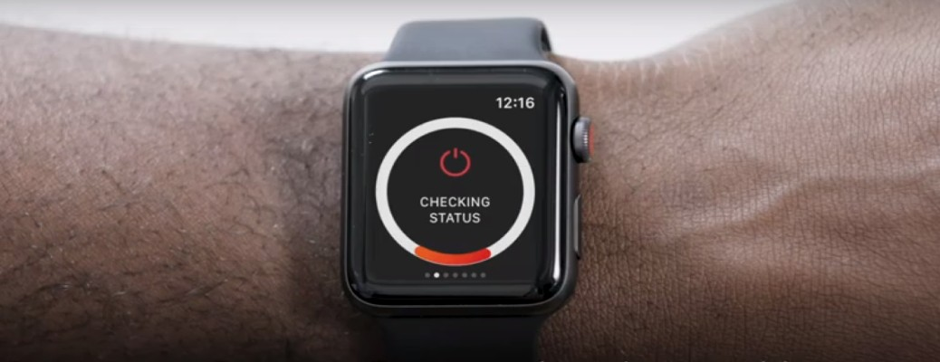 Toyota Remote Connect vehicle status feature on an Apple Watch
