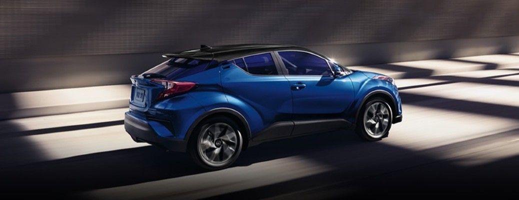 2021 Toyota C-HR side view