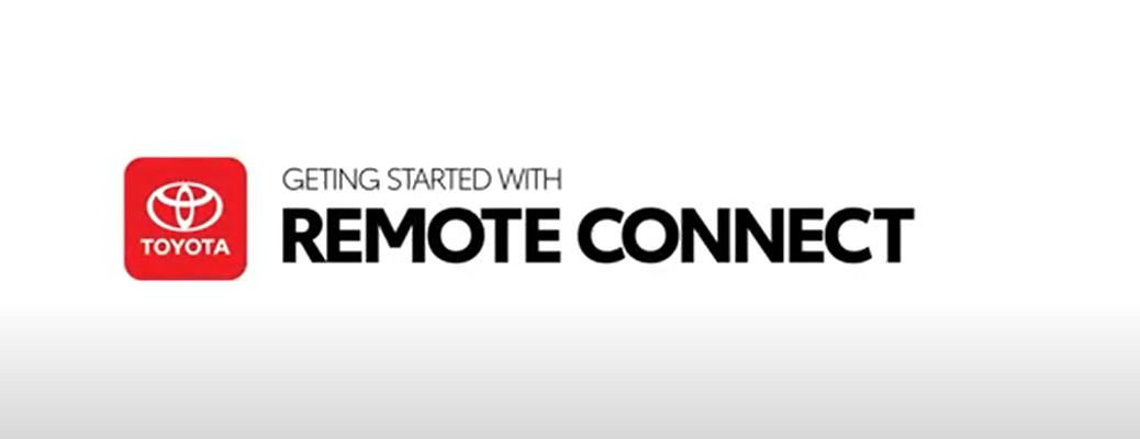 Toyota remote connect image