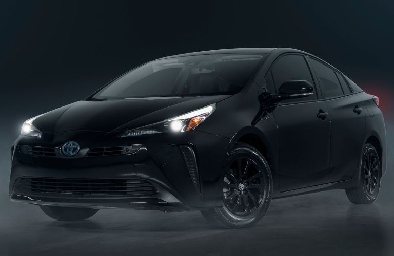2022 Toyota Prius Nightshade driver's side profile view.