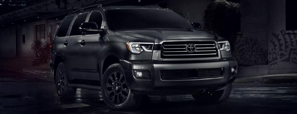2022 Toyota Sequoia in magnetic gray color