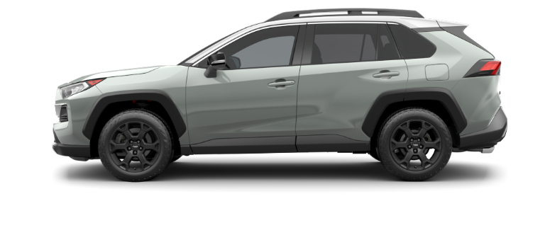 Lunar Rock 2020 Toyota RAV4 with Ice Edge Roof
