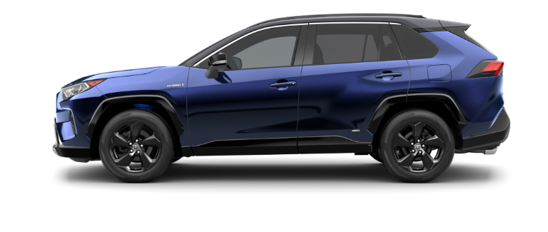 Blueprint 2020 Toyota RAV4 with Midnight Black Metallic Roof
