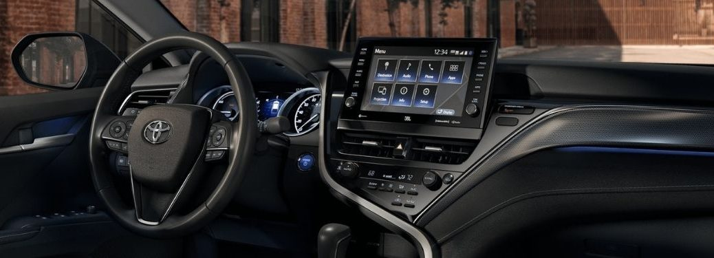 2021 Toyota Camry Steering Wheel and Dashboard