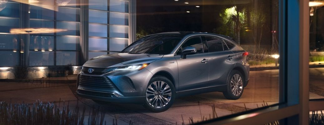 2021 Toyota Venza on the road