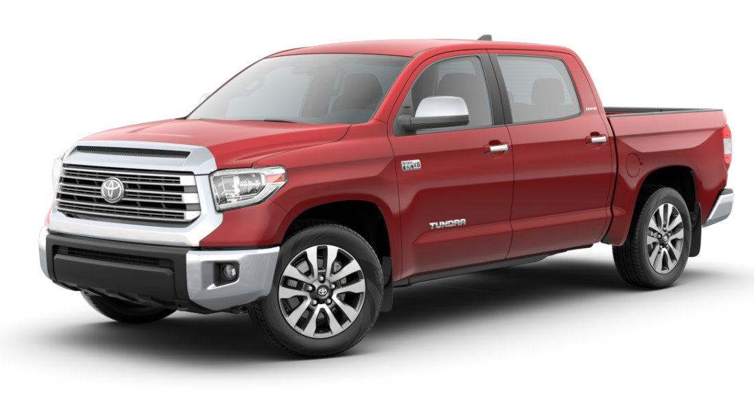 2020 Toyota Tundra Barcelona Red Metallic