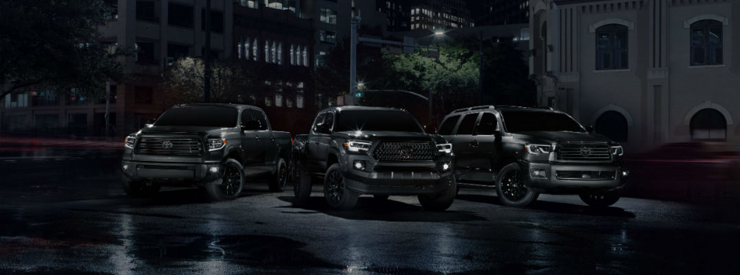 Toyota touts new Nightshade models ahead of the next new model year