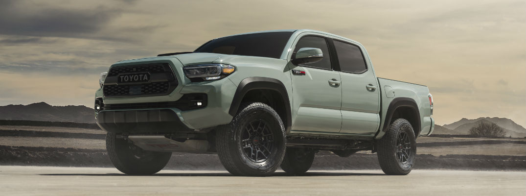 Toyota introduces some new packages to Tacoma shoppers