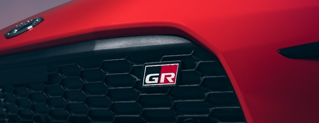 The GR badge used on the 2022 Toyota GR 86.