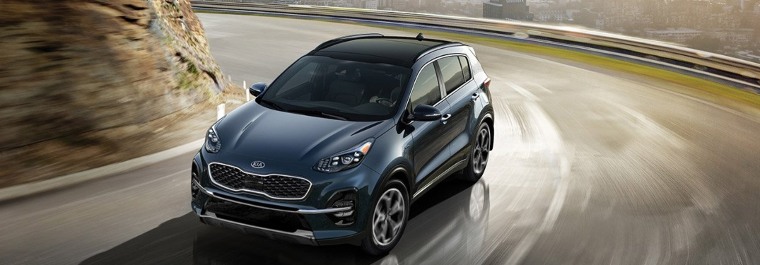 Exterior and interior color combinations for the 2020 Kia Sportage