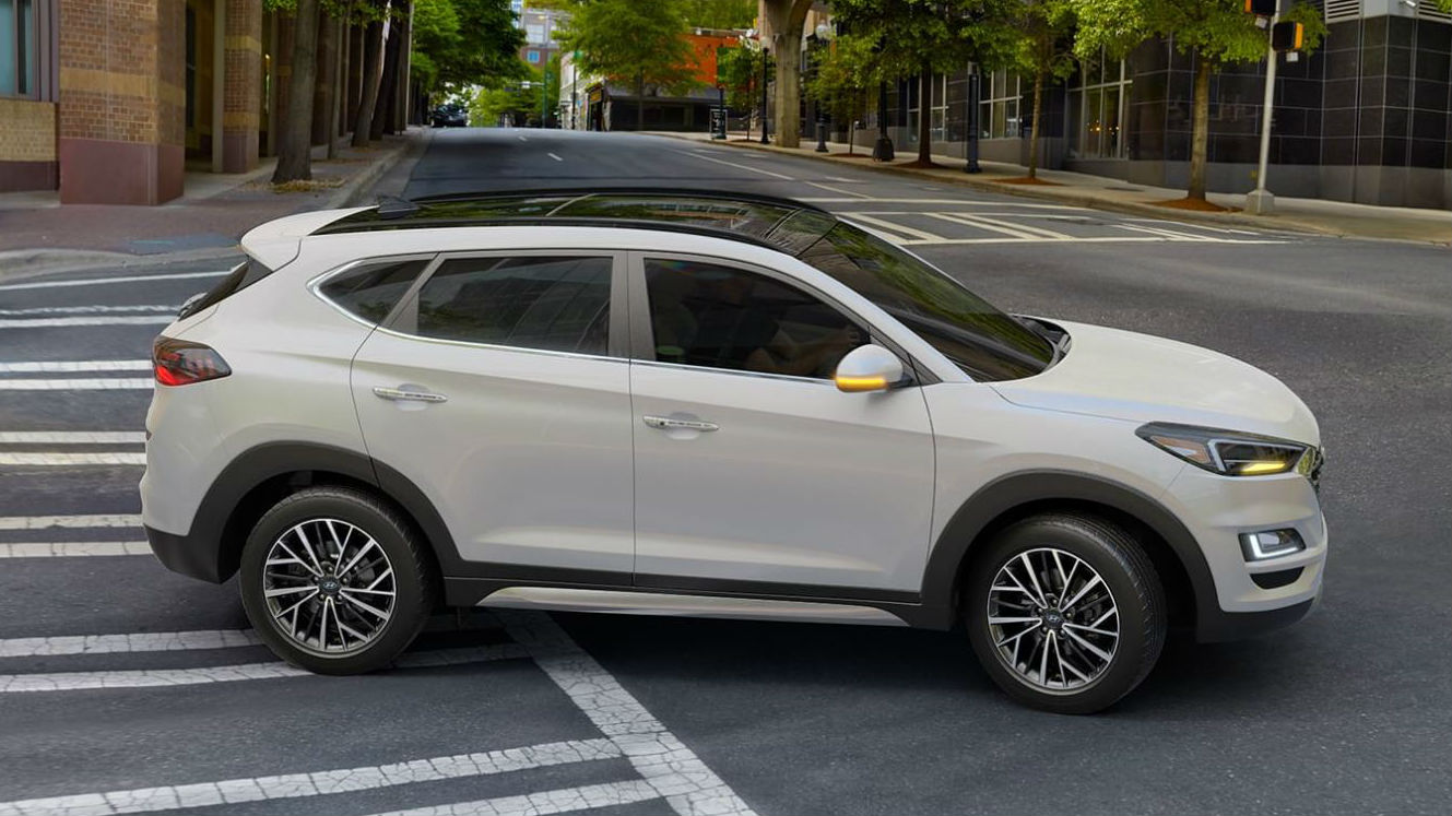 2020 Hyundai Tucson Exterior Color Options Photo Gallery