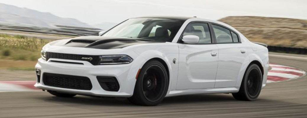 Side view of the 2021 Dodge Charger