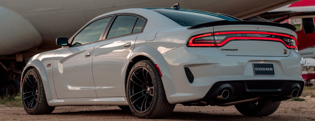 2021 Dodge Charger color white