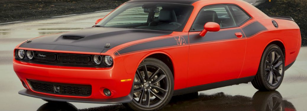 2020 Dodge Challenger in orange