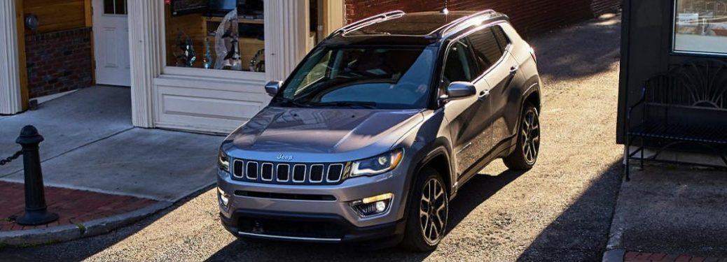 2021 Jeep Compass in gray