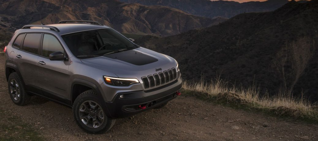 2021 Jeep Cherokee on the road