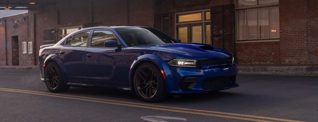 2021 Dodge Charger on the road